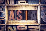 Asia Concept Letterpress Type