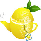 Tea makers shaped lemon