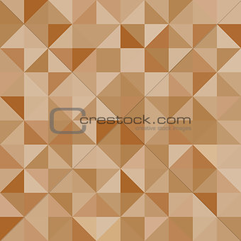 Abstract background brown triangles