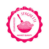 Highest quality spaghetti rubber stamp