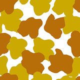 Seamless animal pattern for textile design. Seamless pattern of giraffe spots