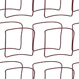 Abstract seamless pattern of repeating square elements