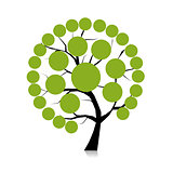 Infographic tree for your design