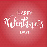Happy Valentine s Day Hand Drawing Background With Hearts