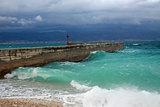 Storm in Dalmatia