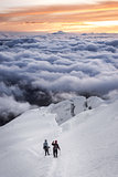 amanecer en la montaña