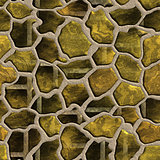 Patterned decorative texture