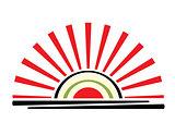 sushi sign or symbol