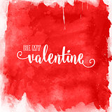 watercolour valentines day background 1512