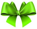 Big green bow