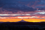 Happy Valley Oregon Mt Hood View Sunrise
