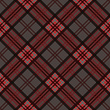 Diagonal seamless pattern in dark colors