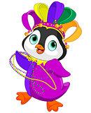 Mardi Gras Penguin