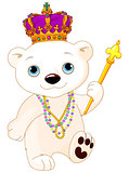 Mardi Gras Polar Bear