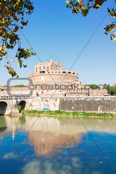 castle st. Angelo, Rome, Italy