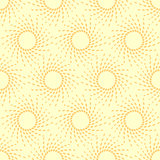 Sunny summer pattern, seamless
