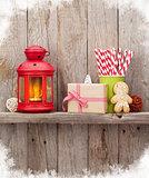 Christmas candle lantern, gift and decor