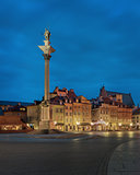 old Warsaw by night