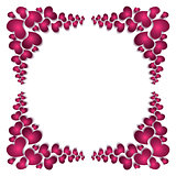 PrintPicture frame silhouette to the Valentine's day.