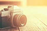 retro analogue camera