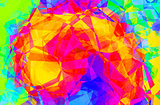 Color swirl abstract background