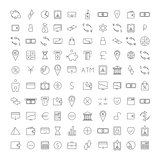 Set outline icon, vector illustration.
