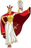 Athena on White