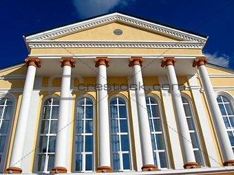 beautiful building of theatre