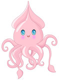 Cute Squid