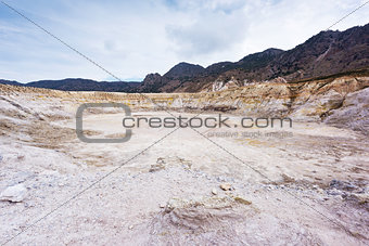 Greece. Nisyros. Stefanos crater