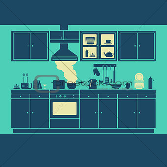 Kitchen Furniture Vector