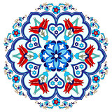 Antique ottoman turkish pattern vector design three
