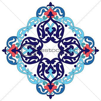 Antique ottoman turkish pattern vector design two