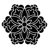 Antique ottoman turkish vector design four