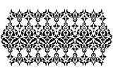 Antique ottoman turkish vector design ten