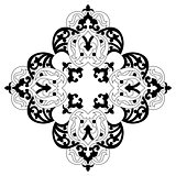 Antique ottoman turkish vector design two