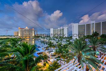 Sarasota Marina Skyline