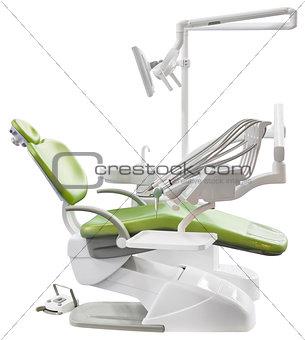 Green Dentist Chair Cutout