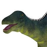 Brachytrachelopan Dinosaur Head