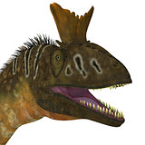 Cryolophosaurus Head View