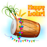 Happy Lohri background