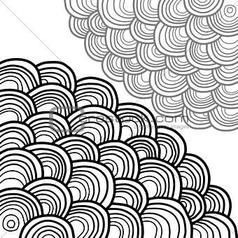 Abstract background of circles.