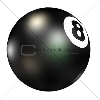 3D Eight Ball