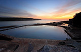 Malabar Pool at Dawn