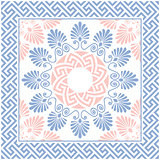 vector Greek floral ornament, Meander