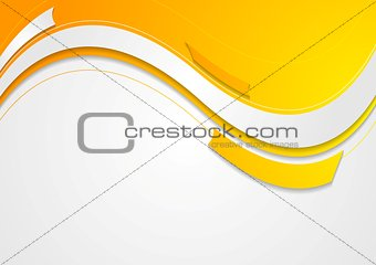 Abstract geometric wavy bright background