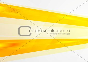 Abstract bright orange vector background