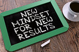 New Mindset for New Results on Chalkboard.