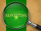 Reporting Concept through Magnifier.