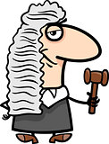 judge cartoon illustration